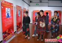 春光社区组织党员们参观百名烈士英雄事迹展览