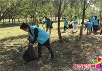 恒润社区开展烟集河治理志愿服务活动