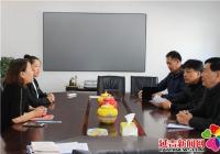 建工街道领导班子走访调研包保非公党组织