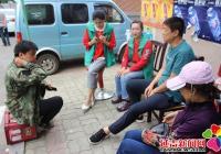 """文汇社区开展""""社会科学普及周""""宣传活动"""