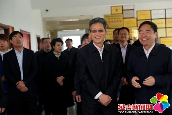 全国总工会副主席张工到延吉调研指导工会工作