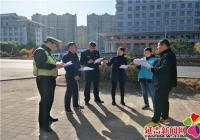园锦社区联合延吉市林业局开展巡路卫生清理活动