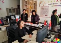 延吉市就业局领导到新兴街道民昌社区调研