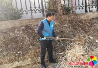 建工街道延春社区携手州档案馆助力创建文明城