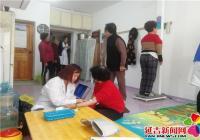 丹明社区开展廉租房老年人健康周活动