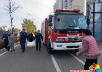 延春社区携手河南消防中队慰问困难群众