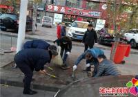 丹华社区开展主题教育志愿服务活动