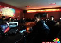 小营镇组织机关党员干部共同参观庆祝 中华人民共和国成立70周年网上展馆