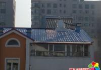 楼顶太阳能漏水结冰 白丰社区协调解决