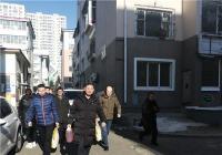 非公党支部弘扬正能量 慰问辖区困难群众