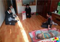 民兴社区人大代表节前慰问困难家庭暖人心