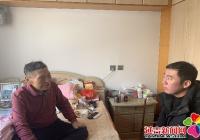民旺社区春节慰问老党员 浓浓温情暖人心