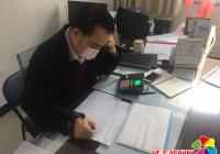 抗击疫情 小营镇东阳社区全体工作人员在行动