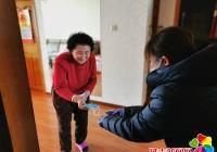 延春社区开展便民服务 助力疫情防控