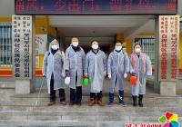 河南街道白桦社区开展疫情防控消杀工作