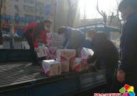 娃哈哈集团捐赠100箱矿泉水 助力进学街道疫情防控