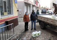 爱心人士捐赠物资  助力白丰社区疫情防控加油