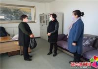 延青社区对接单位慰问社区抗疫一线