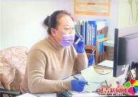 """烟厂社区副书记金贞姬勇当战""""疫""""先锋"""