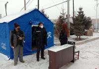 小营镇积极应对大雪天气影响做好疫情防控保障服务