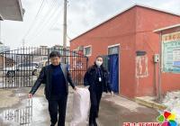 市司法局为延春社区赠送防疫手袋