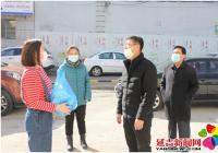 民政局慰问文河社区一线工作人员
