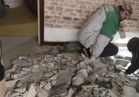 社区紧急维修下水管道 保障居民正常用水