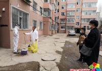 民盛社区积极做好居家隔离人员核酸检测工作