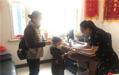 晨光社区母子捐款助力疫情