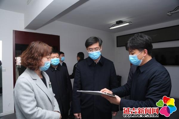 洪庆检查指导新冠肺炎疫情防控工作