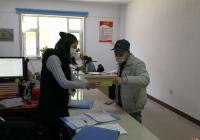园校社区携手非公企业开展 申请健康码张贴宣传活动
