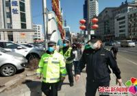 """新兴街道民平社区扎实开展""""路长制""""工作"""
