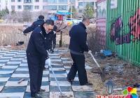 丹延社区携手对接单位开展新时代文明实践志愿服务活动