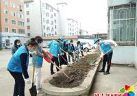延春社区组织学生参加志愿服务活动