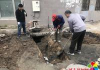 下水管道破裂 社区协调终解决