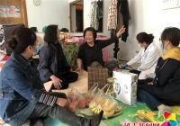 """春光社区开展""""感恩母亲节慰问失独母亲""""走访慰问活动"""