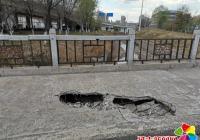 """破损桥面 下起""""及时雨"""""""