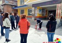 白桦社区开展消防演练和消防知识普及活动