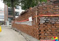 小区围墙成