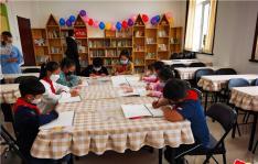 """民兴社区开展""""童心绘家园 欢乐庆六一""""绘画活动"""