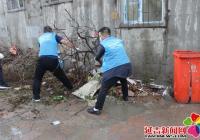 """市委宣传部联合丽阳社区开展""""文明创城志愿者在行动""""志愿服务活动"""