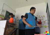 园纺社区开展清洁家园助力创城活动