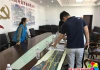 小营镇党委书记尹东日到河南街道考察创城工作