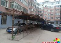 老旧小区增划停车位 居民停车有改善