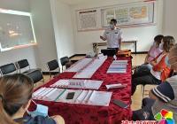 园纺社区开展安全生产月教育活动筑牢安全防线