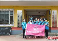 白玉社区巾帼志愿者展风采 助力创城百日攻坚战