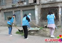 正阳社区开展卫生端午创城志愿服务活动