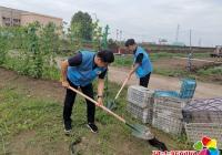 小营镇志愿者到小营村现代农业生态园 开展志愿服务活动