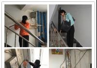 河南街道机关干部到白梅社区清理乱贴乱画 美化辖区环境