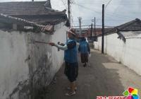创城工作全民参与 村民自发协助创城工作
